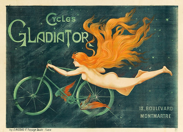 Cycles Gladiator. ca. 1895