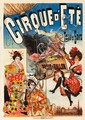 Cirque d'Eté / Paris en Ballon. 1890