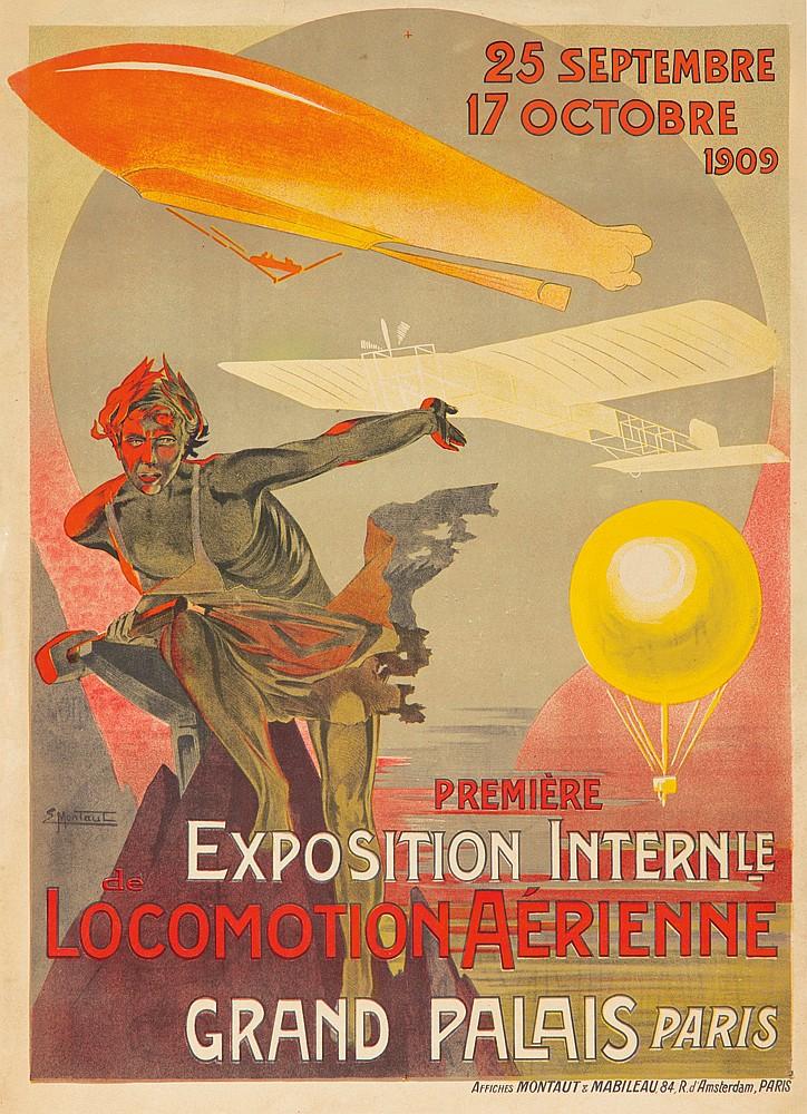 Première Exposition Locomotion Aérienne / Grand Palais.  1909