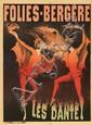 Folies-Bergère / Les Dante. ca. 1890