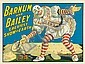 Barnum and Bailey / Greatest Show on Earth. 1917