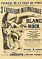 3e Exposition de Blanc et Noir. 1888