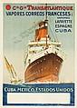 Transatlantique / Espagne. 1910