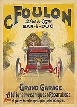 C. Foulon / Grand Garage. ca. 1904