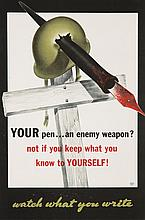 Your Pen ... An Enemy Weapon? 1943