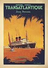 Transatlantique / Linea Francesa. 1930
