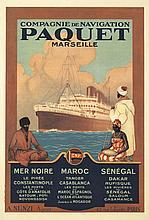 Paquet Marseille. 1927