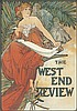 The West End Review. 1897, Alphonse Maria Mucha, $3,000