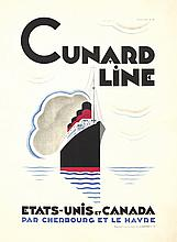 Cunard Line / Etats-Unis et Canada. 1929