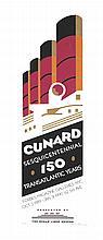 Cunard Sesquicentennial.  1989