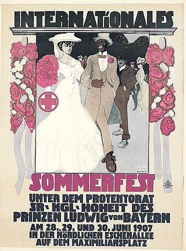 Internationales Sommerfest.