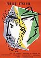 Original 1940s MULLER-BROCKMANN Design Poster Plakat