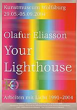 HAND-SIGNED Modern Design Poster OLAFUR ELILASSON