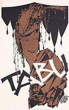 Rare Original JULIUS KLINGER Tabu Poster