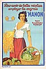 Original 1920s/30s French Food Agriculture Poster