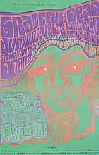 Original 1967 WES WILSON Grateful Dead Fillmore Poster