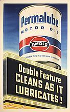 Stunning Original 1940s Amoco USA Poster