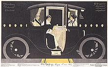 Original Flanders Electric Auto Magazine Poster 1913