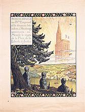 2 Old Original French World War I Loan Posters HANSI