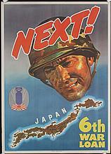 3 Original American World War II Posters NEXT + SULLIVANS + 1