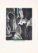 Original 1920s Swiss Travel Poster BRUGGER Art