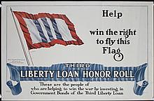 Set of 10 Original American World War I & II Posters