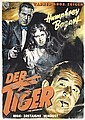 Original German 1951 Humphrey Bogart The Enforcer Film Poster German Plakat, Hans Bohrdt, Click for value