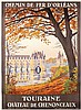 Nice Original 1920s French Travel Poster CONSTANT DUVAL, Constant (1877) Duval, $300
