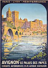 Old Original 1920s French Travel Poster ROGER BRODERS