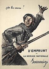 Famous Original French World War I Poster FAIVRE