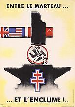 Original French World War II Propaganda Poster CARLU