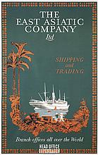 Original 1930s East Asiatic Shipping Travel Poster