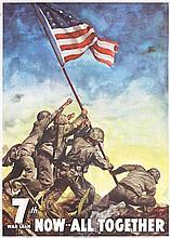 Original US World War II Poster ALL TOGETHER CC BEALL