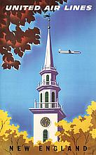 Original 1950s California Travel Poster JOSEPH BINDER