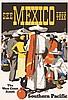 RARE 1930s MAURICE LOGAN So. Pacific Rail Poster Mexico, Maurice George Logan, $460