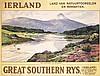 RARE Original 1930s Ireland Travel Poster WALTER TILL, Walter Till, $800