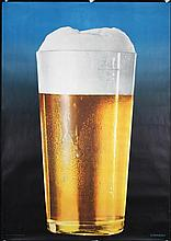 Great Original 1950s Swiss Beer Poster EIDENBENZ