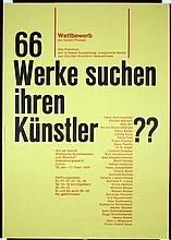 4 Great Original Swiss Modern Graphic Design Posters