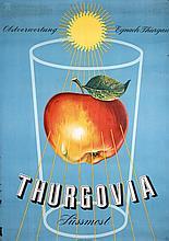 Original 1950s Swiss Apple