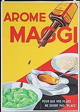 Original French 1950s MAGGI Advertising Poster