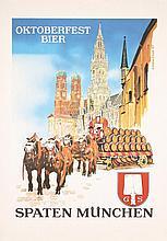 Original 1960s Oktoberfest Beer Poster