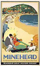 STUNNING Original 1920s British Seaside Travel Poster