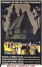 Original 1930s Polish Travel Poster SILESIA NORBELIN