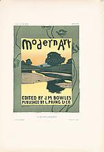 4 Original Vintage 1890s Affiches Etrangeres Prints