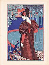 Original 1890s LOUIS RHEAD Art Nouveau Print