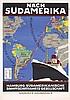 Original 1920s HAPAG Ship Travel Poster ANTON, Ottomar Anton, $360