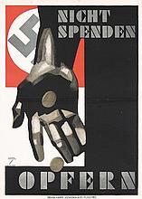 Original German 1930s Ludwig Hohlwein Propaganda Poster