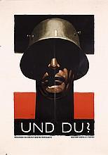 RARE Original LUDWIG HOHLWEIN UND DU Propaganda Poster