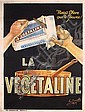Original 1900/10s French Advertising Poster VEGETALINE