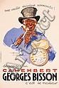 Original 1930s French Liquor Poster DIEGE Henry Monnier